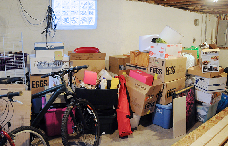 Clean out the Basement