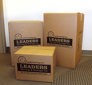 Leaders packing boxes